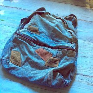 Vintage Shane Denim Backpack